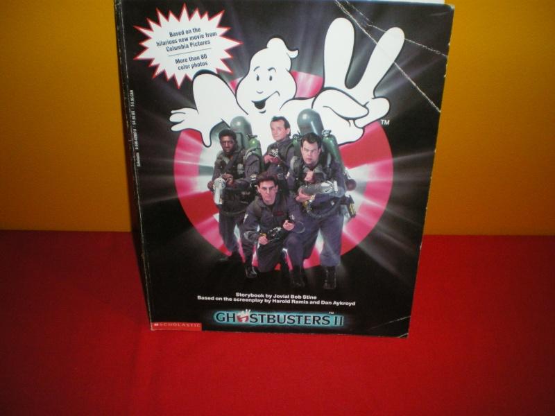 Le livre  ghostbusters 2 avec image Imgp2123