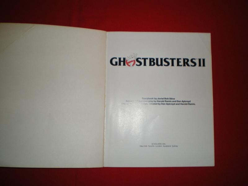 Le livre  ghostbusters 2 avec image Imgp2125
