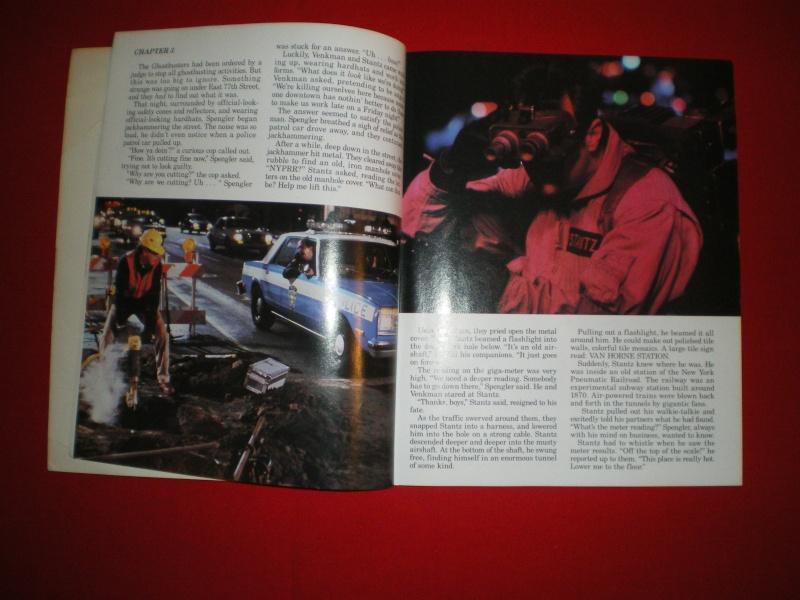 Le livre  ghostbusters 2 avec image Imgp2126
