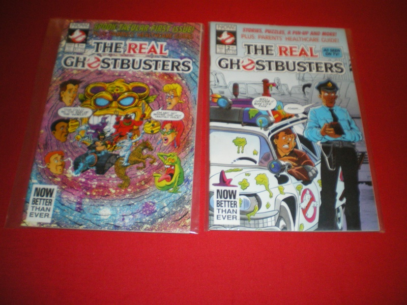Bande dessinée The real ghostbusters Imgp2146