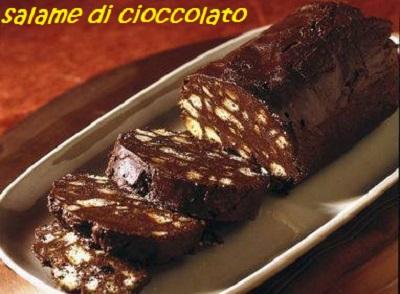 Torte e dolcetti vari Salame10