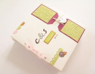 """mini album """"C&S"""" avec les étiquettes """"mariage"""" de swirlcards Img_0210"""
