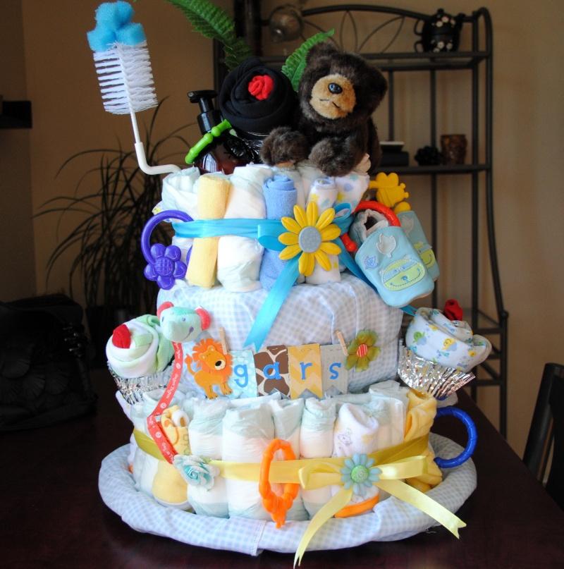 un gâteau de couche  Gateau10