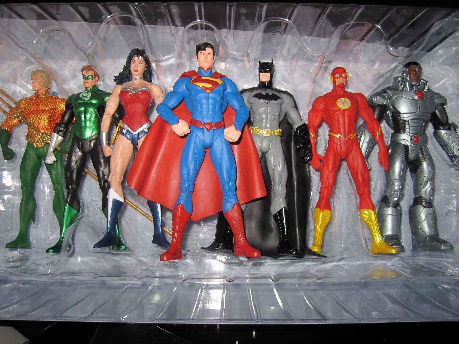 DC Collectibles We Can Be Heroes: Justice League 7-Pack Box Set 13603710