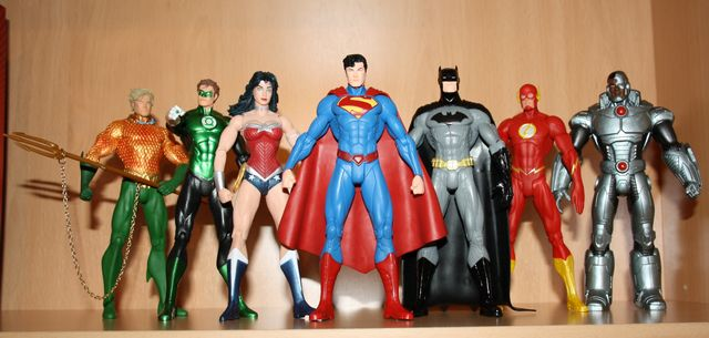 DC Collectibles We Can Be Heroes: Justice League 7-Pack Box Set Wecanb11