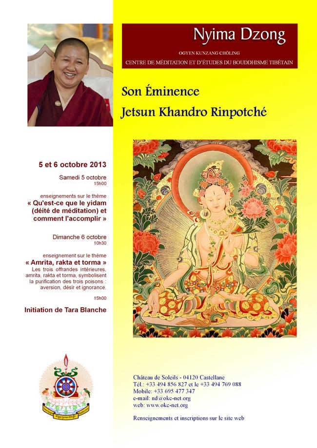 Jetsun Khandro Rinpoché à Nyima Dzong - Page 2 Jkhnri10