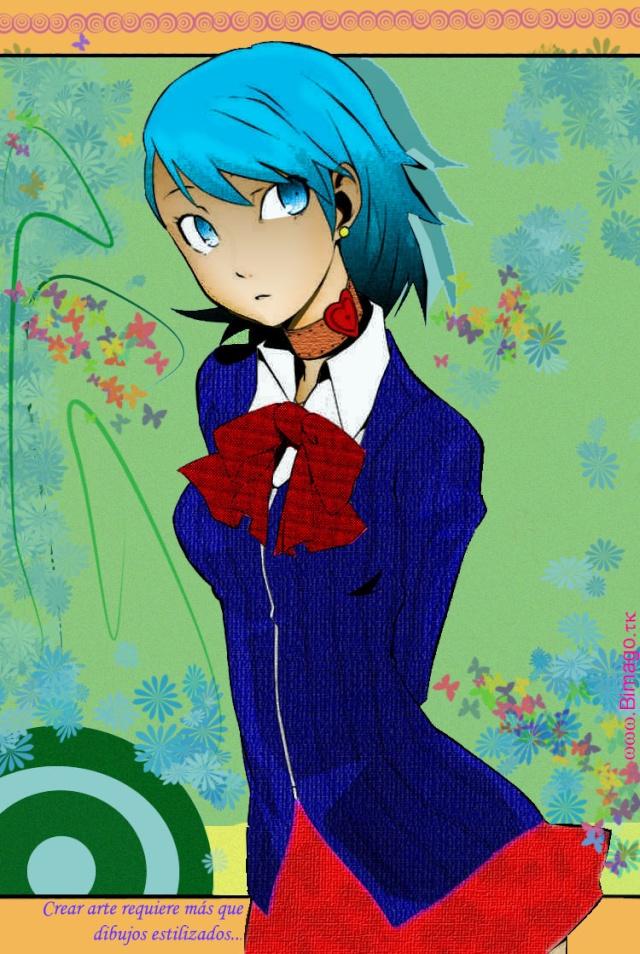 Persona Fan Art by Bimago Person10