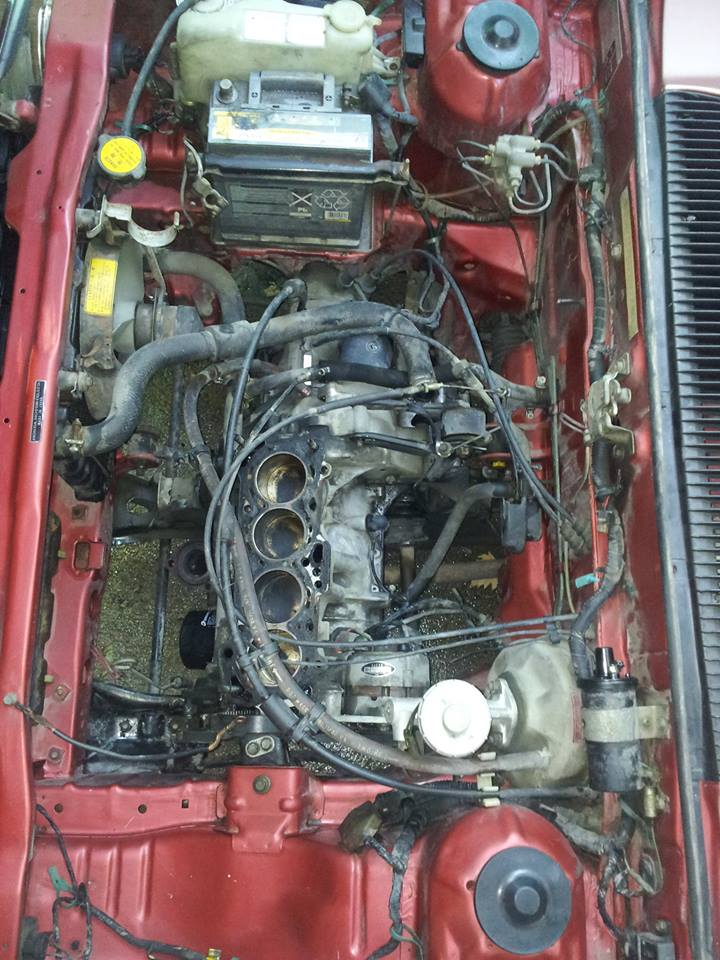 HONDA CIVIC SS552 de 1983 sauvée du broyeur 12091310