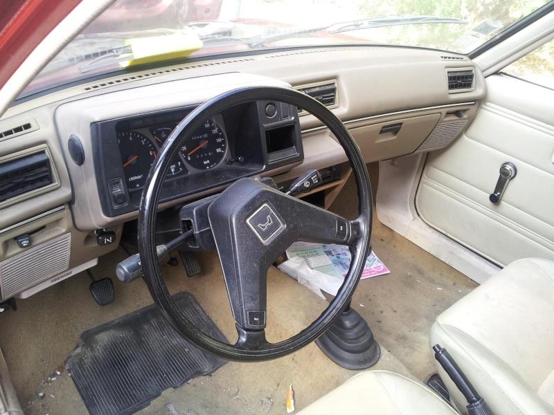 HONDA CIVIC SS552 de 1983 sauvée du broyeur 13531710