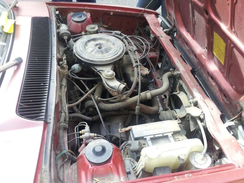 HONDA CIVIC SS552 de 1983 sauvée du broyeur 13536410