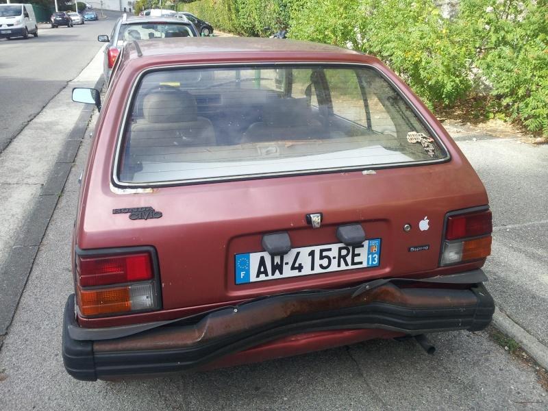 HONDA CIVIC SS552 de 1983 sauvée du broyeur 13537910