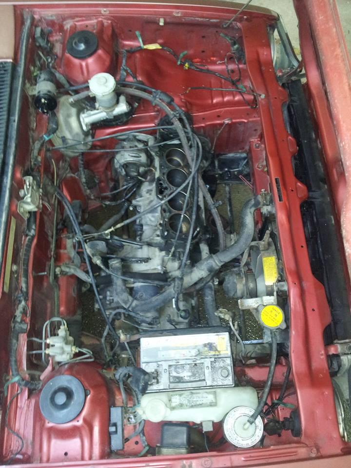 HONDA CIVIC SS552 de 1983 sauvée du broyeur 13714210