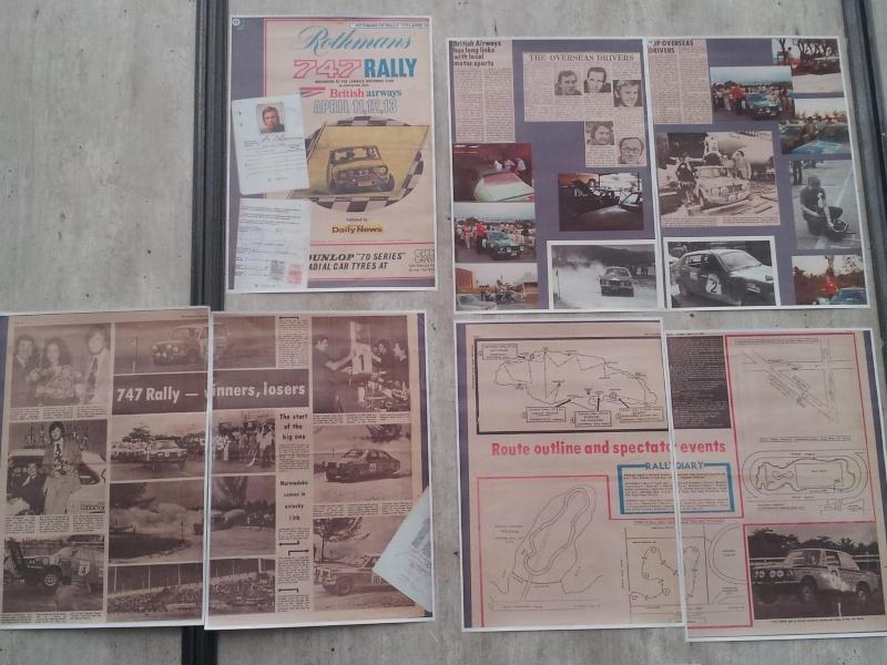 1/43 ème DATSUN  120Y : Rothman 747 RAlly / MONTE CARLO 1976 89898110