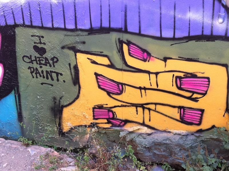 Graffitis, affiches, pub, peintures, sculptures, art - Page 2 Img_1327