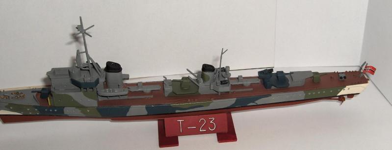 Torpilleur Allemand T-23 par Flash au 1/400 - Heller Hpim0616