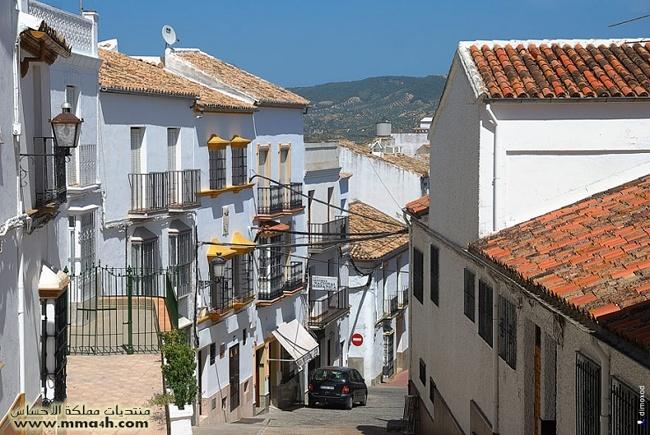 Olvera القرية البيضاء في أسبانيا 1210