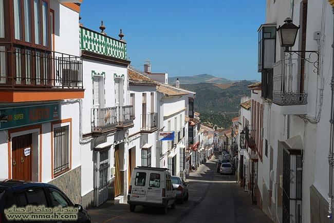 Olvera القرية البيضاء في أسبانيا 1510