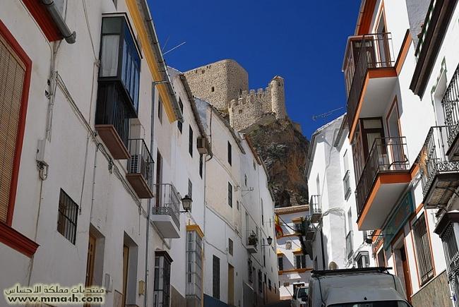 Olvera القرية البيضاء في أسبانيا 1610