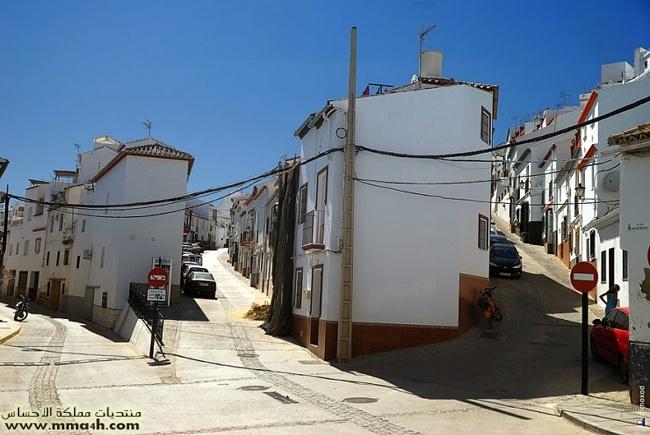 Olvera القرية البيضاء في أسبانيا 1710
