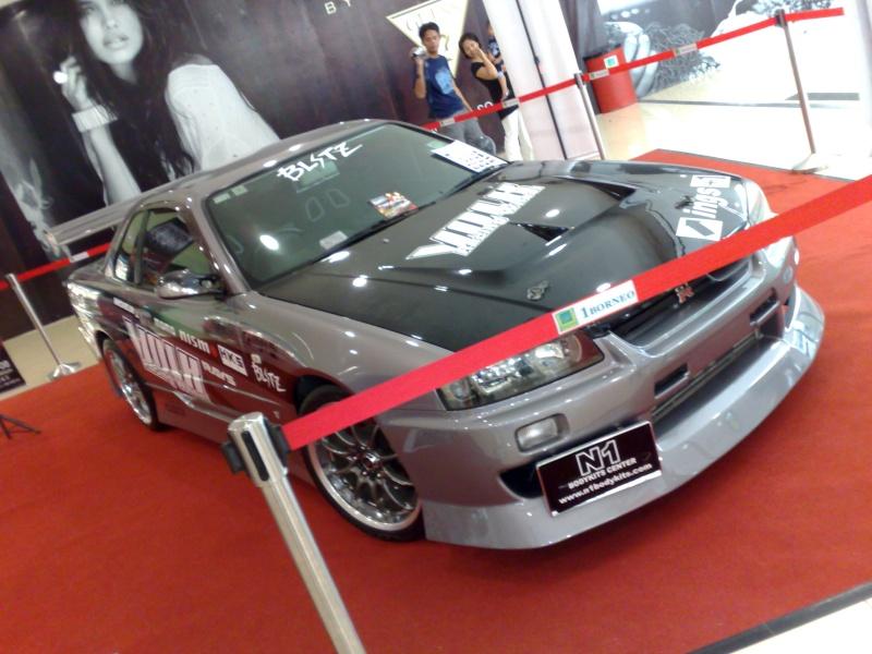 nissan skyline show car at 1 borneo big boy toys 17102010