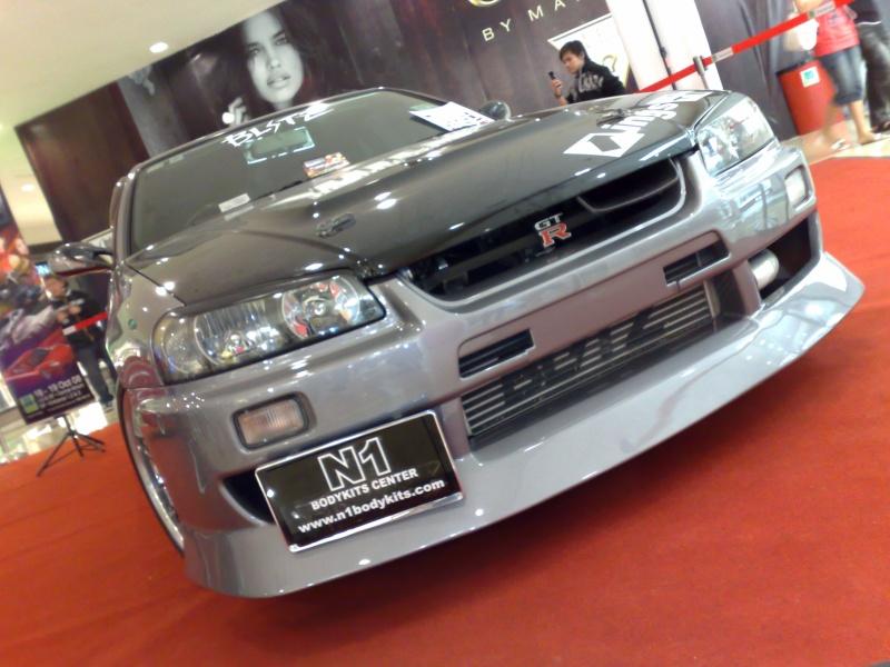 nissan skyline show car at 1 borneo big boy toys 17102011