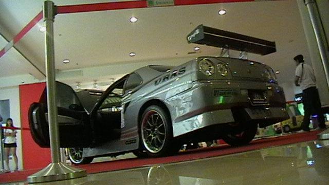 nissan skyline show car at 1 borneo big boy toys Imga0012