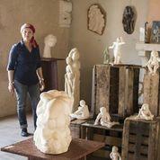 "Nouvel atelier-galerie ""Terre et pierre"" Inaug212"