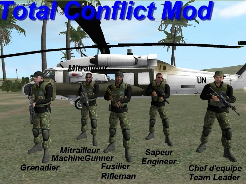 L'Equipe SAS et BlackHawk Sas11