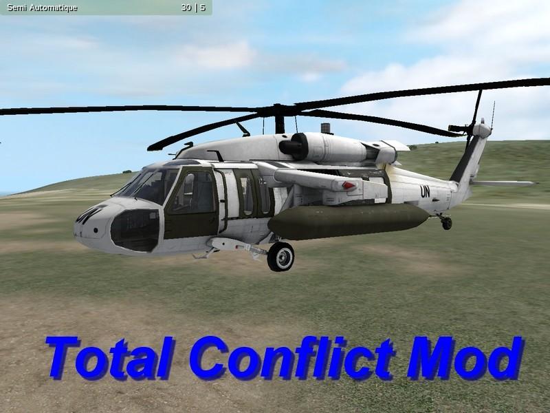 L'Equipe SAS et BlackHawk Uh110