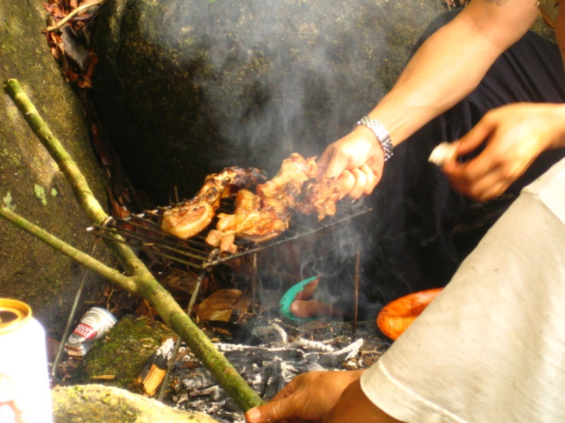 Borneo Tracks: Gunung Piuh Forest Resort Bbq_110
