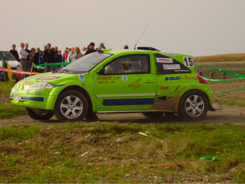 photos des n°15 et 54 - Equipages HERBERT - Page 2 Rallye23
