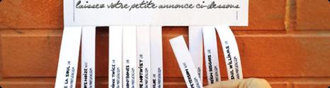 """Une nouvelle rubrique """"Petites Annonces"""" sur le forum de BFN 13629210"""