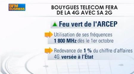 Olivier Roussat, sur BFM Business, ambitionne sur la 4G Bouygues Telecom Bytel410
