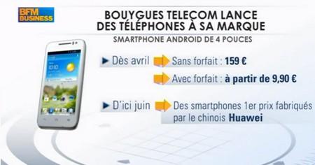 Olivier Roussat, sur BFM Business, ambitionne sur la 4G Bouygues Telecom Bytel412
