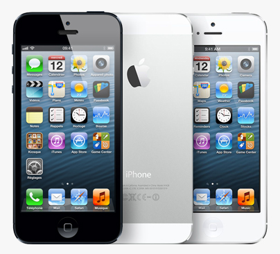 L'iPhone 5 d'occasion disponible chez Bouygues Telecom et B&YOU Iphone10