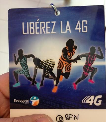 """""""Liberez la 4G"""" Le 1er réseau national 4G chez Bouygues Telecom. Sans_t11"""