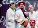 Dr clown Patch Adams m.d Clowns10