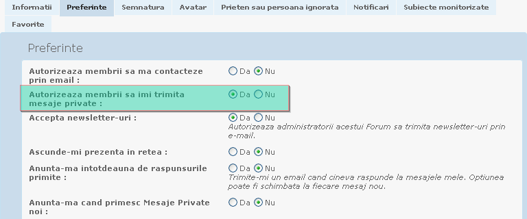 Mesagerie Privata / Mesaje Private 10322810