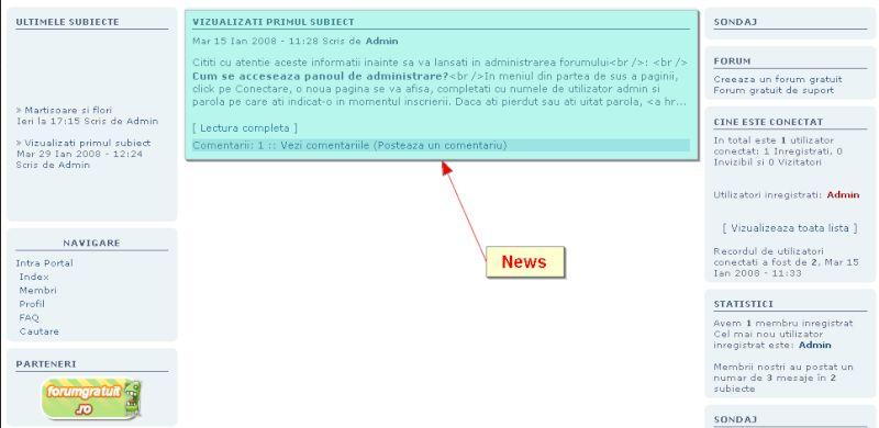 Widgeturi (module) predefinite 95087710