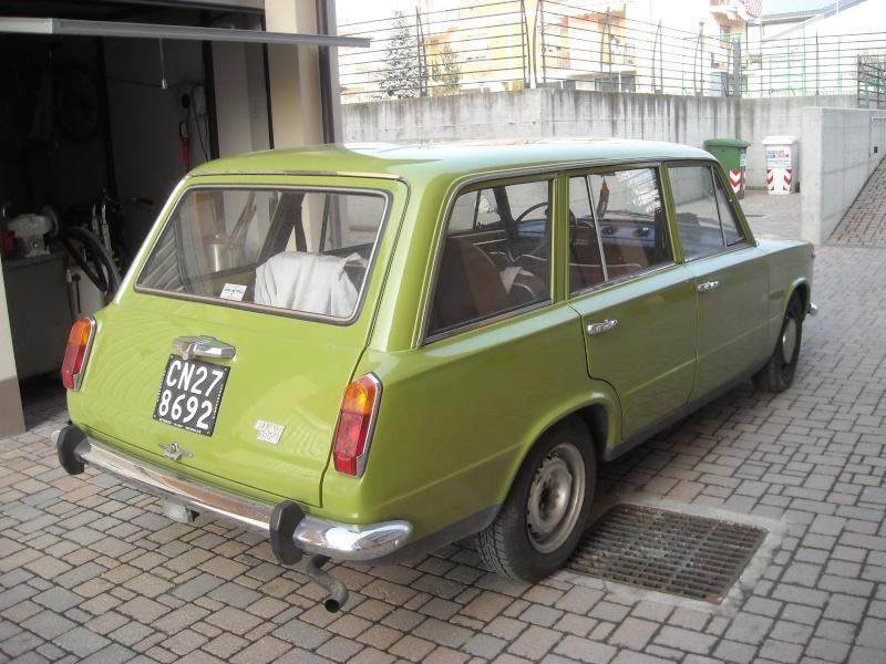 familiare - vendo o scambio Fiat 124 familiare Dscn0011