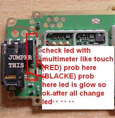 Nokia 1200 & 1208 Light Problem 100% Tested Solution 1200li10