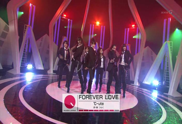 Forever love (performance in music japan) C-ute --JavierJp0p C-ute_10
