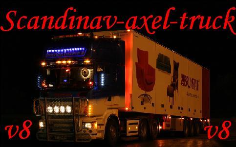 Scandinavia-truck
