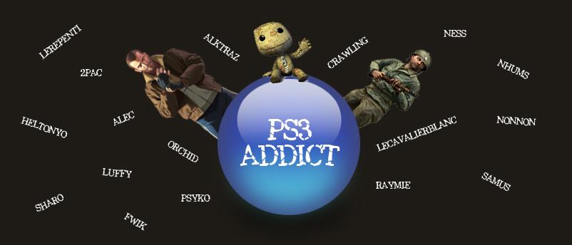 PS3 Addict - La Communauté Francophone