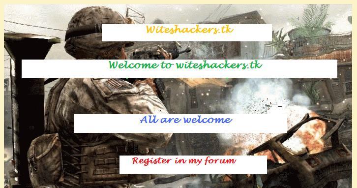 Witeshackers.Tk