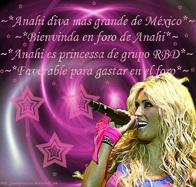 ~*Anahi diva más grande de México*~