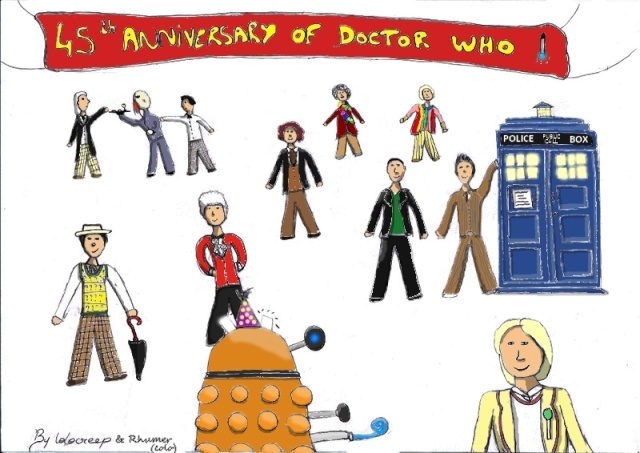 HAPPY BIRTHDAY  to DOCTOR WHO : 45 ans !! Lolo4510
