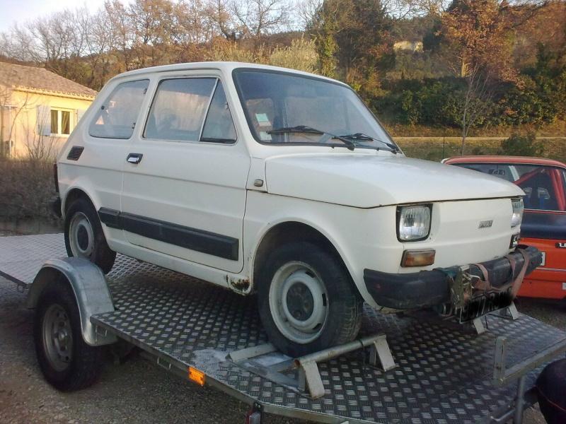Une italienne en Tricastin Fiat210