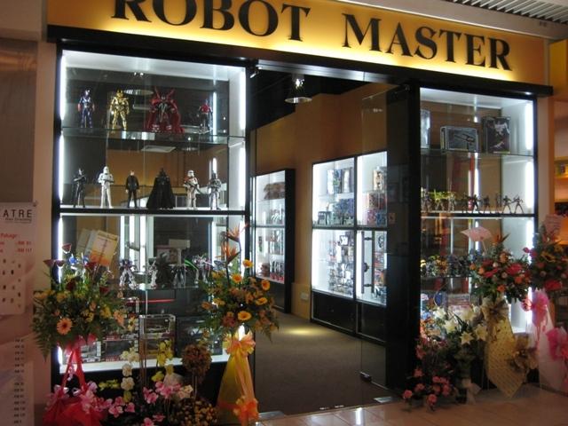 Nice Robot model shop at queensbay mall penang. Rm110