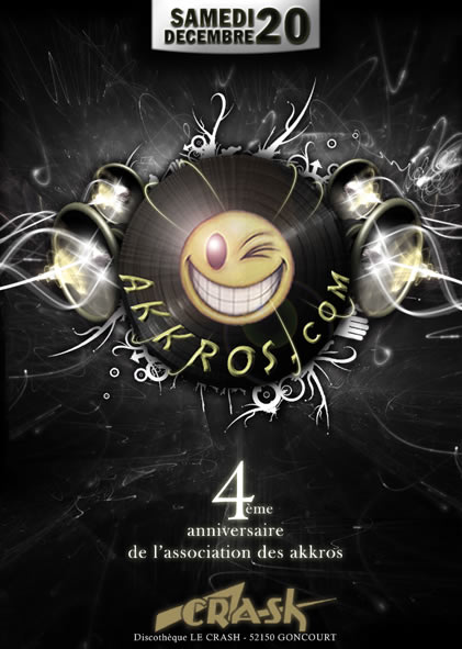 "Akkros Birthday ""Edition 4"" @Crash - Goncourt (52) 20/12/2009 20anni12"